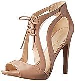 Nine West Womens Momentous Dress Sandal,Taupe/Taupe,7 M US