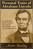 img - for Personal Traits of Abraham Lincoln book / textbook / text book