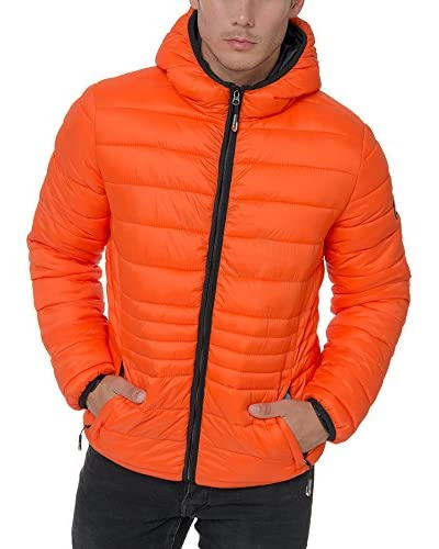 Geographical Norway Chaqueta Guateada Cola Naranja