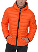 Geographical Norway Chaqueta Guateada Cola (Naranja)