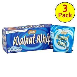 Walnut Whip Multipack 3 x 34G