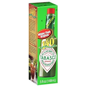 Tabasco Green Jalapeno Pepper Sauce from Tabasco