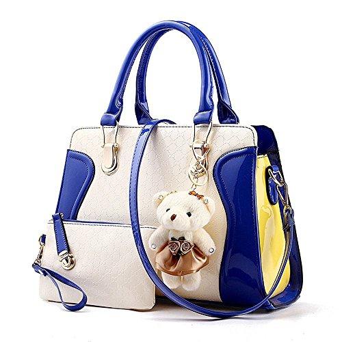 koson-man-damen-cute-bear-sling-tote-taschen-top-griff-handtasche-brieftasche-blau-blau-kmukhb183