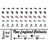 NFL - New England Patriots Waterslide Nail Decals - 50pc