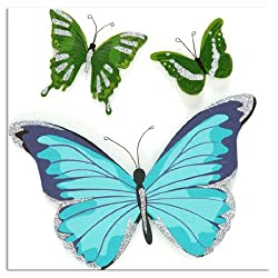 Martha Stewart Crafts Blue & Green Butterfly Stickers By The Package