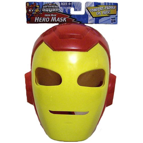 Marvel Comics Super Hero Squad Iron Man Mask Costume Accessory