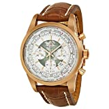 51wDR5j%2B 6L. SL160  Breitling Transocean Automatic White Dial 18kt Rose Gold Mens Watch RB0510U0 A733BRCD