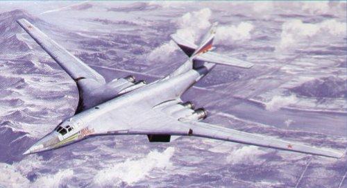 Trumpeter 1/72 Tupolev Tu-160 Blackjack # 01620