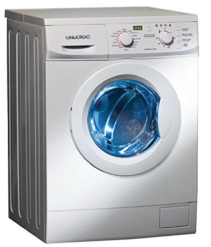 SanGiorgio SES510D Libera installazione 5kg 1000RPM A+ Bianco Caricamento frontale lavatrice