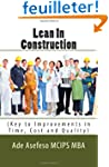 Lean In Construction: (Key to Improve...