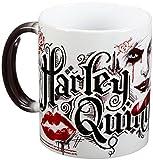 Morphing Mugs Batman Arkham Knight (Harley Quinn) Ceramic Mug, Black