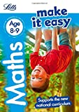 img - for Letts Make It Easy Complete Editions   Maths Age 8-9: New Edition book / textbook / text book