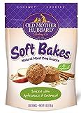 Old Mother Hubbard Gourmet Goodies Soft Bakes Natural Dog Treats, Applesauce & Oatmeal, 6-Ounce Bag