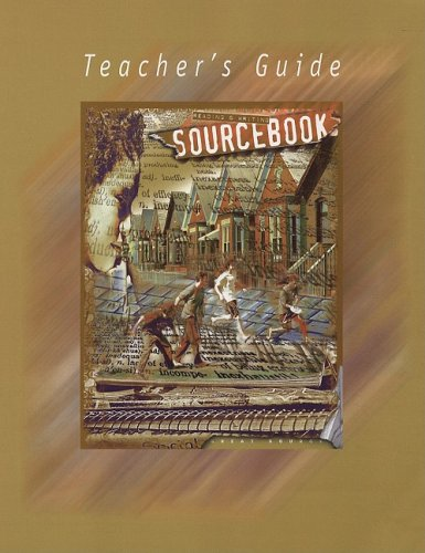 Great Source SourceBooks: Teacher's Edition Sourcebook Grade 7 2001