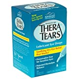 Thera Tears Lubricant Eye Drops, 2 Count