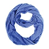 V Fraas Solid Crushed Loop Scarf