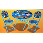 3-Piece Folding Table and Chair Set