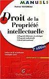 echange, troc Patrick Tafforeau - Droit de la propriété intellectuelle