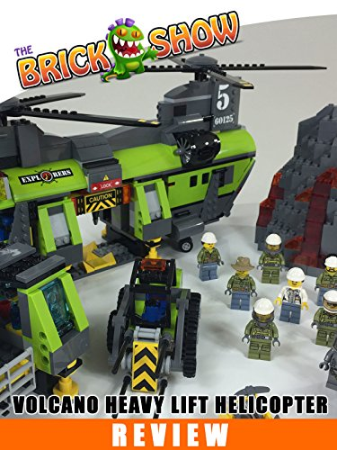LEGO City Volcano Heavy-Lift Helicopter Review (60125)