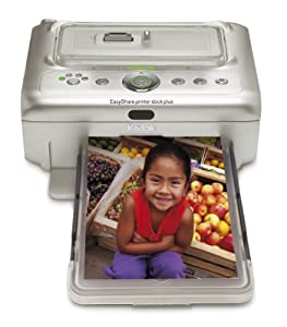 Kodak EasyShare Printer Dock Plus - Printer - color - dye sublimation - 4 in x 7.25 in up to 1 min/page (color) - USB, Infrared