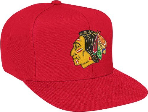 Chicago Blackhawks Basic Logo Snap Back Hat at Amazon.com