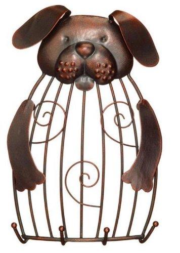 Decobreeze Home Holiday Decoration Cage Keyring Holder-Dog
