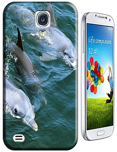 Family Dolphin Swimming Together With Mother Father And Baby Lovely Cell Phone Cases For Samsung Galaxy S4 front-66332