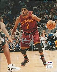 KYRIE IRVING SIGNED AUTHENTIC 8x10 PHOTO CLEVELAND CAVALIERS PSA DNA a5 by KLF Sports