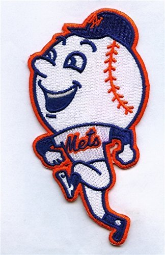 Mr. Met New York Mets 2014 Alternate Jersey Official MLB Baseball Patch - Ships w/a Tracking Number by Baseball Jersey Patches [並行輸入品]