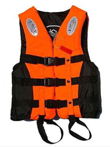 hibote Bambini bambini Kayak Sci Vela Vita sport nautici Impact Giacca PFD galleggiabilit?Aiuti galleggiante Life Vest Taglia M Rosso