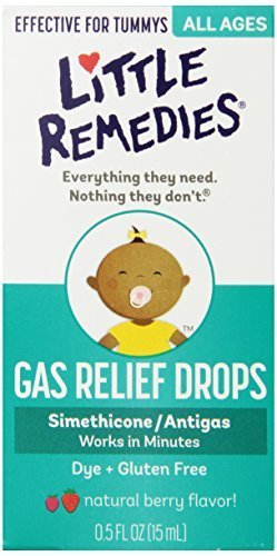 Little Remedies Infants and Children Tummys Gas Relief Drops, Natural Berry Flavor, .5 Ounce by Little Remedies (Little Remedies Gas Drops Infants compare prices)
