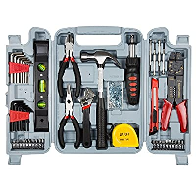 Trademark Tools 75-6037 Hand Tool Set , 130-Piece