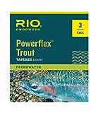 Rio: Powerflex Trout Leaders, 3 Pk, 9ft 5X