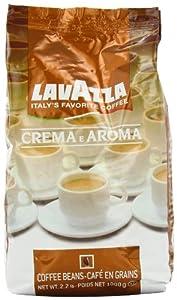 Lavazza Crema e Aroma Coffee Beans, 2.2-Pound Bag