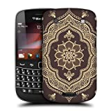 Head Case Designs Mehndi Frame Henna Protective Snap-on Hard Back Case Cover for BlackBerry Bold Touch 9900