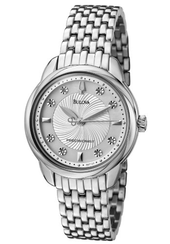 Women'S Precisionist White Diamond (0.08 Ctw) Stainless Steel