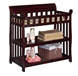 Delta Eclipse Changing Table, Espresso