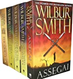 Wilbur Smith Collection 5 Books Set Pack RRP:39.95 (Assegai, The Sound of Thunder, When the Lion Feeds, Sparrow Falls, The Quest)
