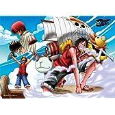 500ピース ワンピース 海賊王におれはなる! (38x53cm)