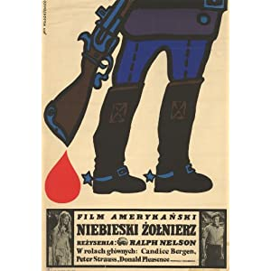 soldier blue 1970  polish  art print