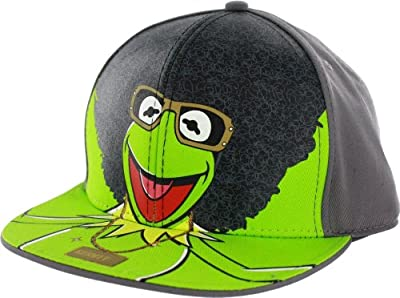 The Muppets Afro Kermit Adjustable Baseball Cap