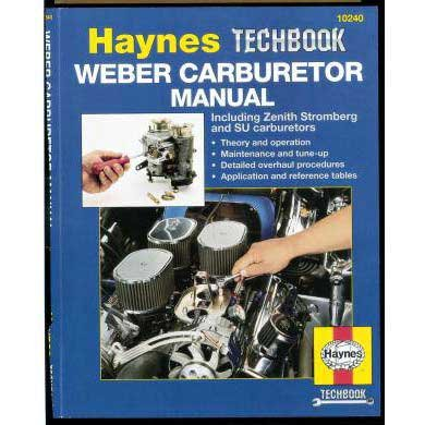 The Haynes Weber Carburetor Manual (1988 Toyota Pickup Carburetor compare prices)