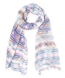 Echo Design Wrap Colorful Kaleidoscope Pastel Scarf Accessory