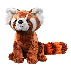 """Red Panda Plush Toy 8"""" by Wildlife Artists"""