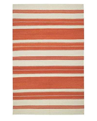 Genevieve Gorder Jagges Stripe Rectangle Flat Woven Rug