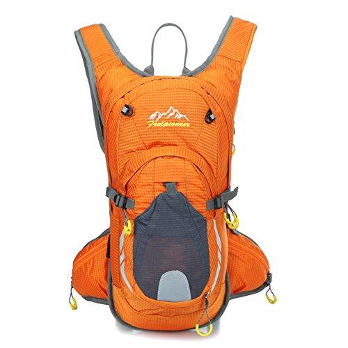sac de vélo professionnel / sac d'escalade en plein air / sac de sport / Backpack Voyage-Orange 15L