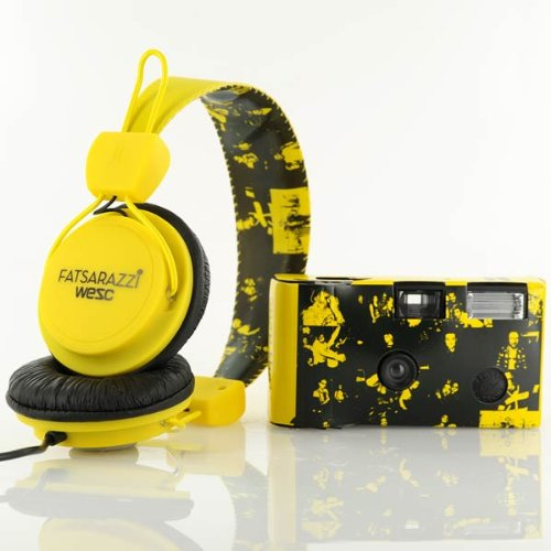 Wesc X Fatsarazzi Collab Premium Headphones