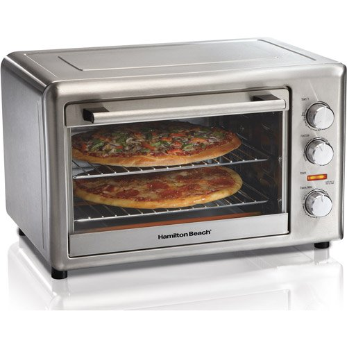 New Large Stainless steel Contertop convection toaster oven with rotisserie
