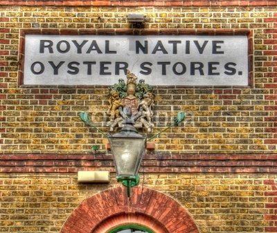 Wallmonkeys Peel and Stick Wall Decals - Royal Native Oyster Stores Whitstable Kent - 36