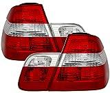 R�ckleuchten Set, passend f�r 3er BMW E46 Limo, Mod. Bj. 10/01-2/05. Ausf�hrung: Rot Wei�.